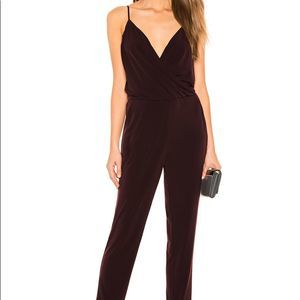 NWT 1. State Maroon Wrap Front Jumpsuit Romper! 🔥